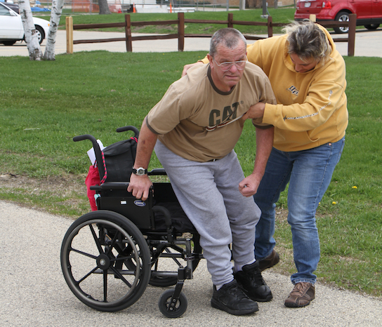physical defects after brain injury create need for physical therapy
